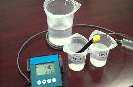 检测水样的pH参数