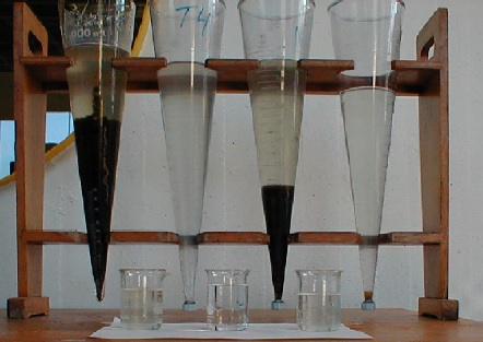 Detect water chroma