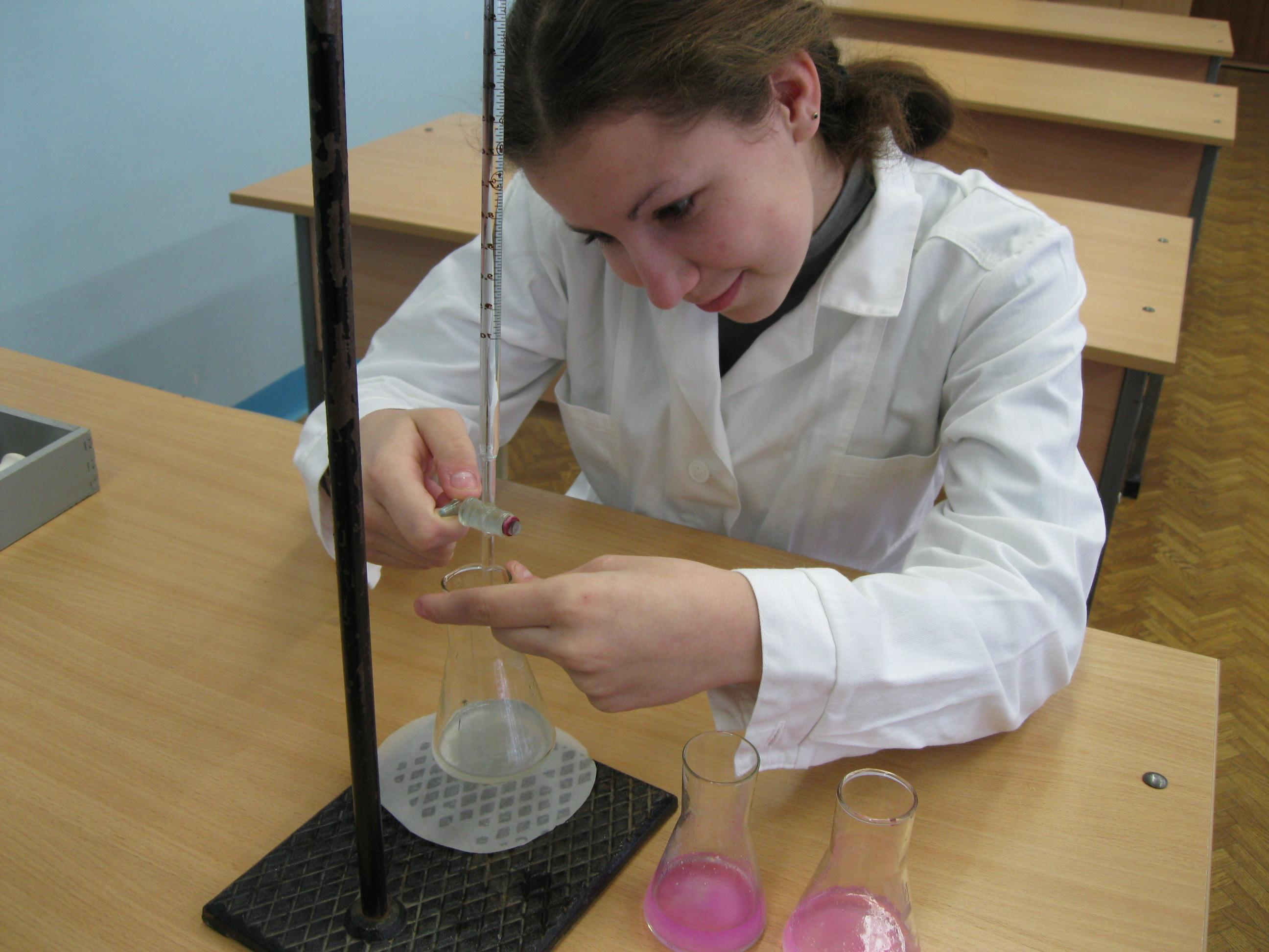 Mohr Method Titration of Chloride Ion in Water